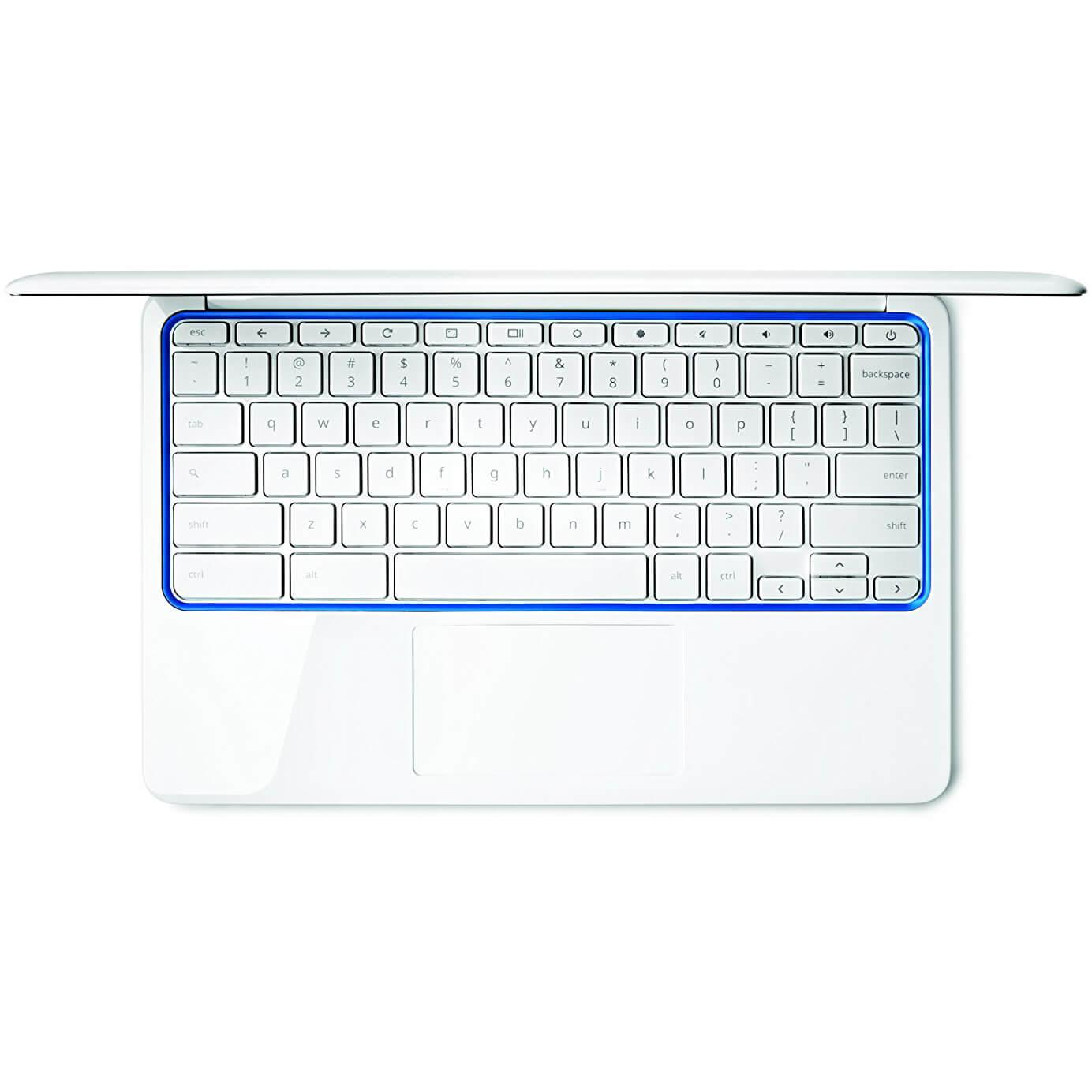 HP Chromebook 11 CB2 16GB White & Blue WiFi Only 11.6