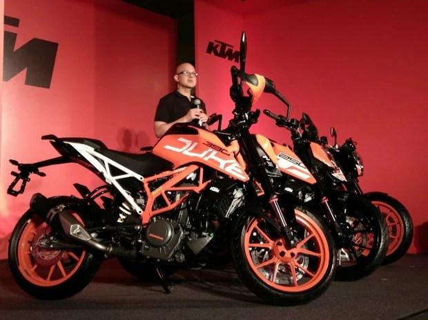 ktm launches new range