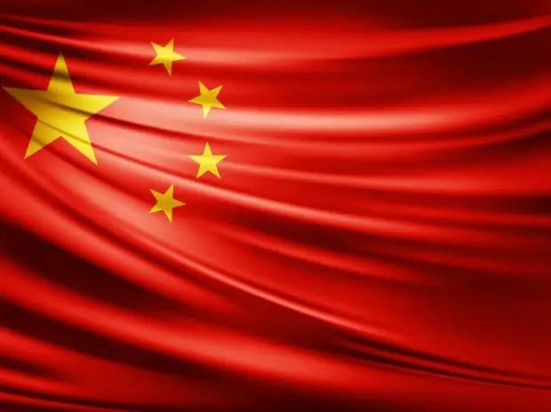 China, flag,
