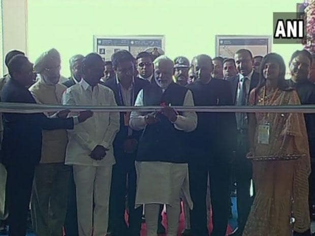 PM Modi flags off first Hyderabad Metro train from Miyapur, takes a ride