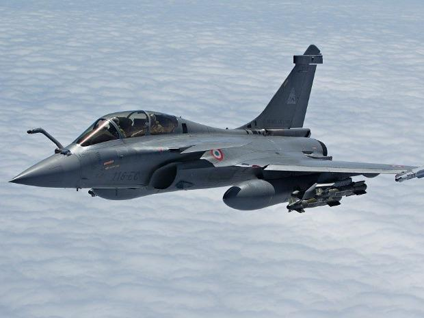 Photos of India's first Rafale jet