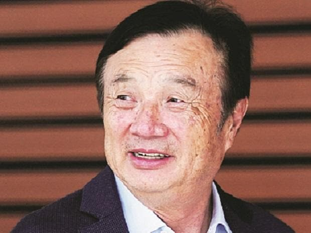 Huawei founder Ren Zhengfei says US sanctions not his toughest crisis