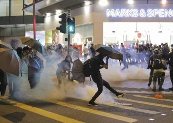 New wave of chaos hits Hong Kong as protesters launch 'blossom everywhere