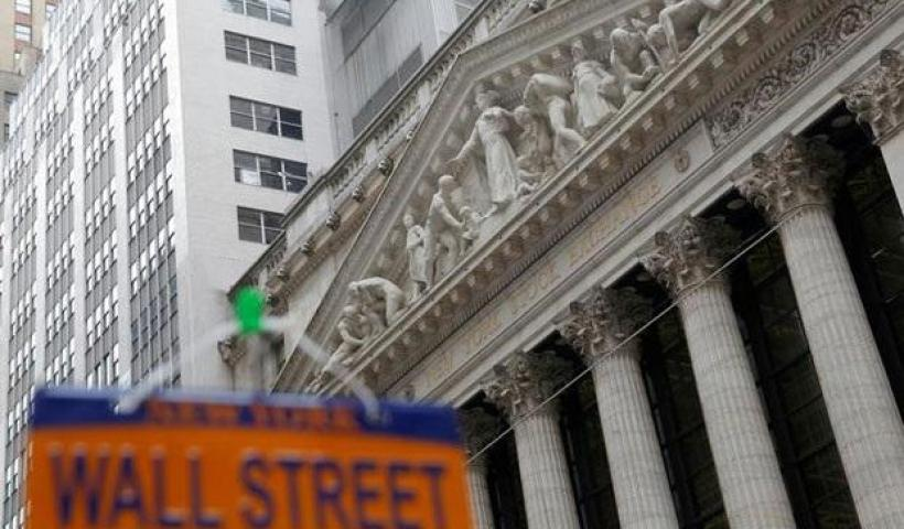 Wall Street indexes edge up with gains in energy and financial shares