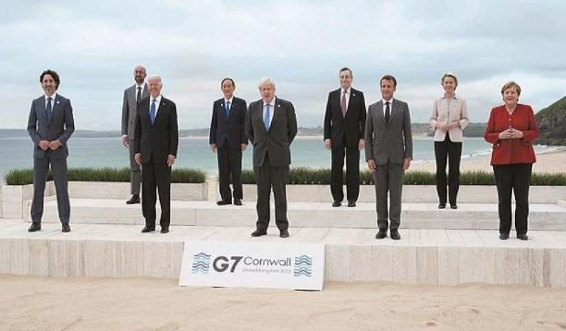 As summit ends, G-7 urged to deliver on Covid-19 vaccines, climate