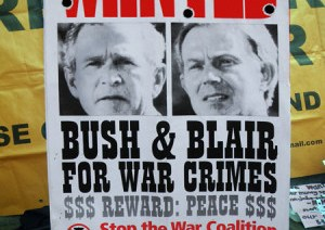 Bush, Blair Found Guilty of War Crimes