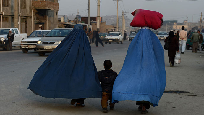 Afghan women now. (AFP Photo / Shah Marai)