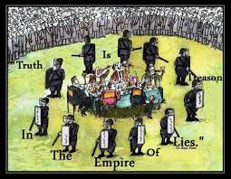 Daesh, The Revolutionary Neoliberal Party and the British Falsehood Corporation