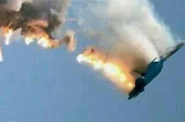 Syrian-warplane