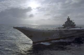 Admiral Kuznetsov aircraft carrier. © Oleg Lastochkin / Sputnik