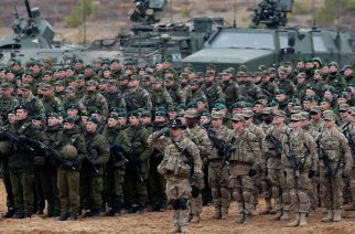 By moving troops to Russia's border NATO and the US violate key treaties negotiated with Russia to end the Cold War.