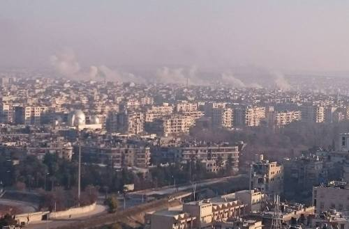 Overlooking eastern Aleppo (Photo: Rev'd Andrew Ashdown)