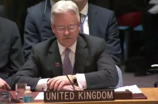 Sir Alan Duncan MP, Minister of State at the Foreign and Commonwealth Office, at the Security Council Open Debate on International Peace and Security, 10 January 2017