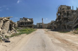 Al Khaldeeye district, Homs (Photo: Mike Raddie)