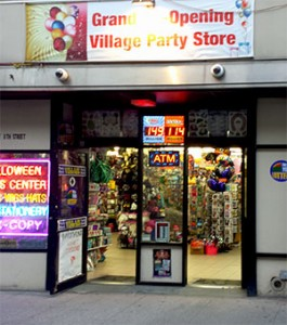 Ballon Shop NYC owned and operated by Village Party Store