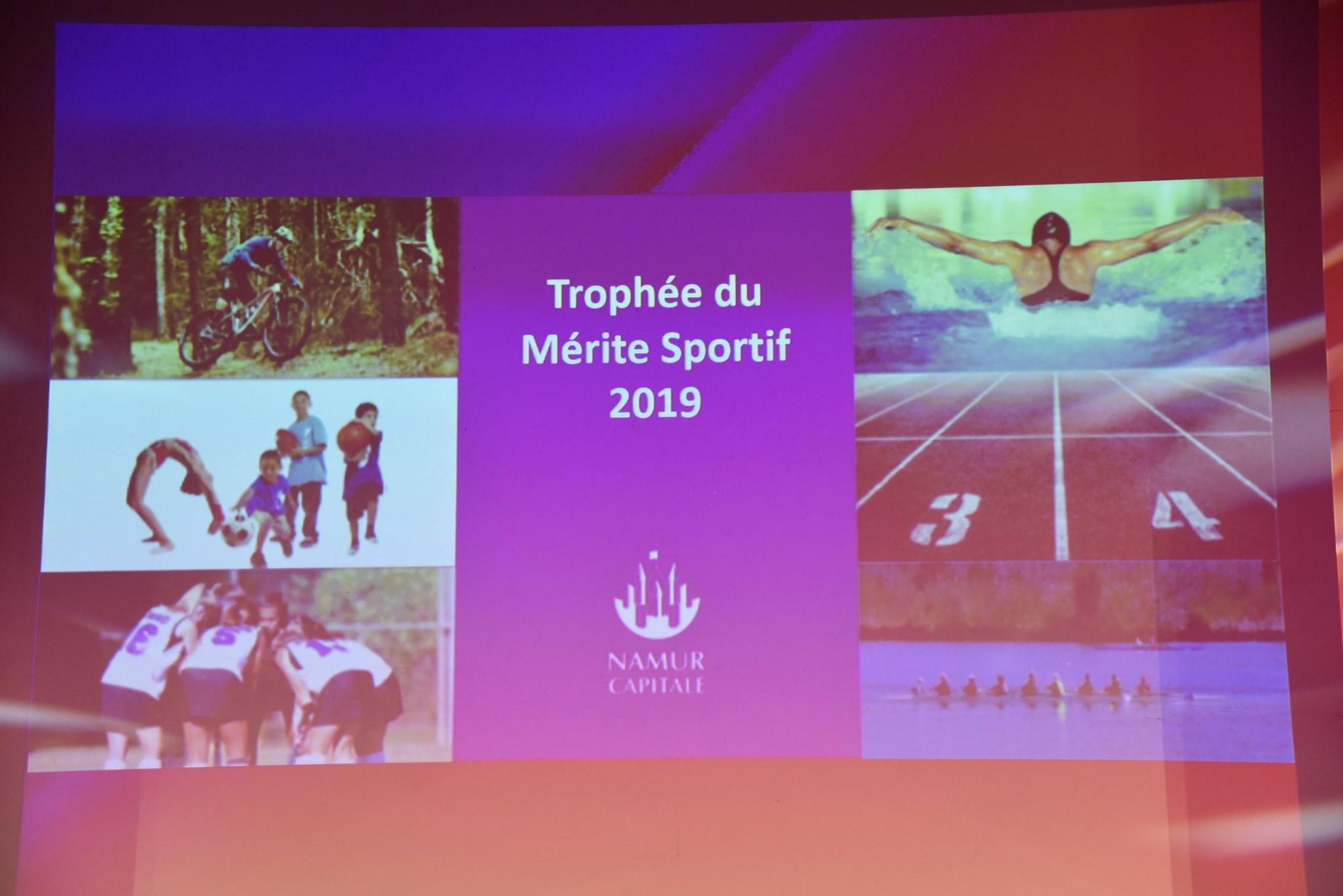 Mérite sportif 2019