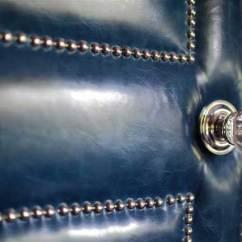 Grey Leather Desk Chair Rustic Kitchen Chairs | Amy Hirschamy Hirsch