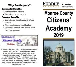 monroe co citizens academy