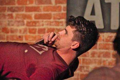 Joe Bender, performer. June 19, 2019 Bloomington Comedy Festival at Comedy Attic (Dave Askins/Beacon)