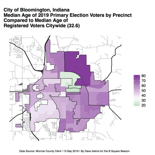R Map Election Monroe County MEDPARTPRIM2019CityWide
