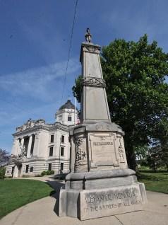Alexander Memorial, Monroe County Courthouse Sept. 10, 2019