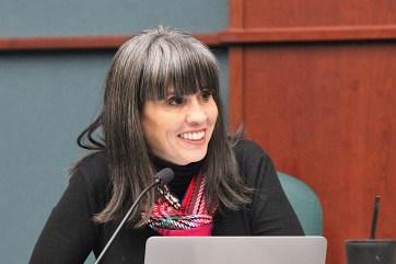 Allison Chopra, , Bloomington city council meeting Dec. 18, 2019.
