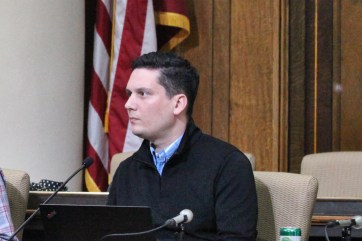 County councilor Eric Spoonmore.