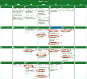 Calendar Screen Shot 2020-03-12 at 11.56.24 AM