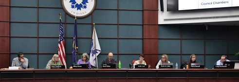 Bloomington's city plan commission, March 9, 2020.