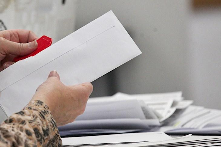 Opening ballots