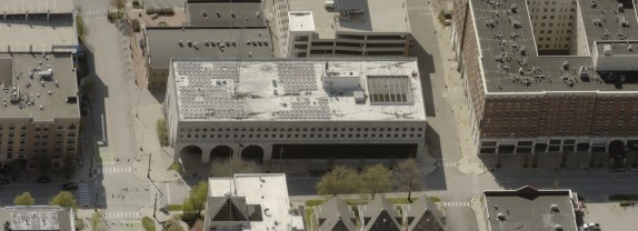 Image of the Monroe County jail from the east is from Monroe County's online property lookup system.