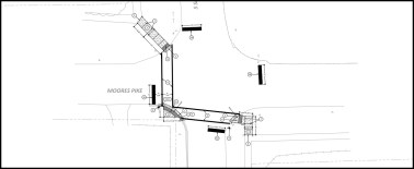 Image is from the plan set that was available to bidders on the Moores Pike and Smith Road project.