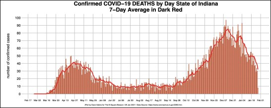 bordered R-OUT COVID DAILY DEATHS for STATE Jan 29 article