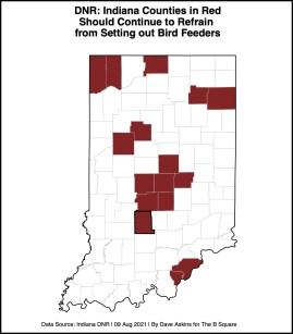 bordered R Map BIRD DEATH REPORT Aug92021 BIRDREPORTxxxx