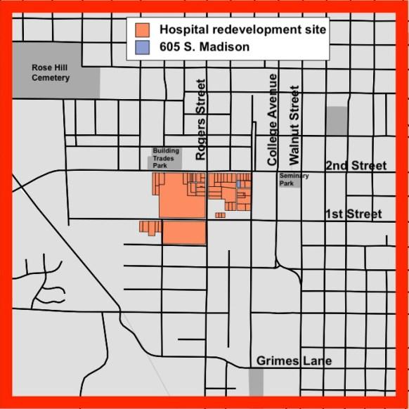For Publication inset R Map 605 Madison hospital siteYYYxxxx