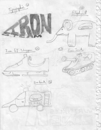 40 to show an iron (concepts, pg7)