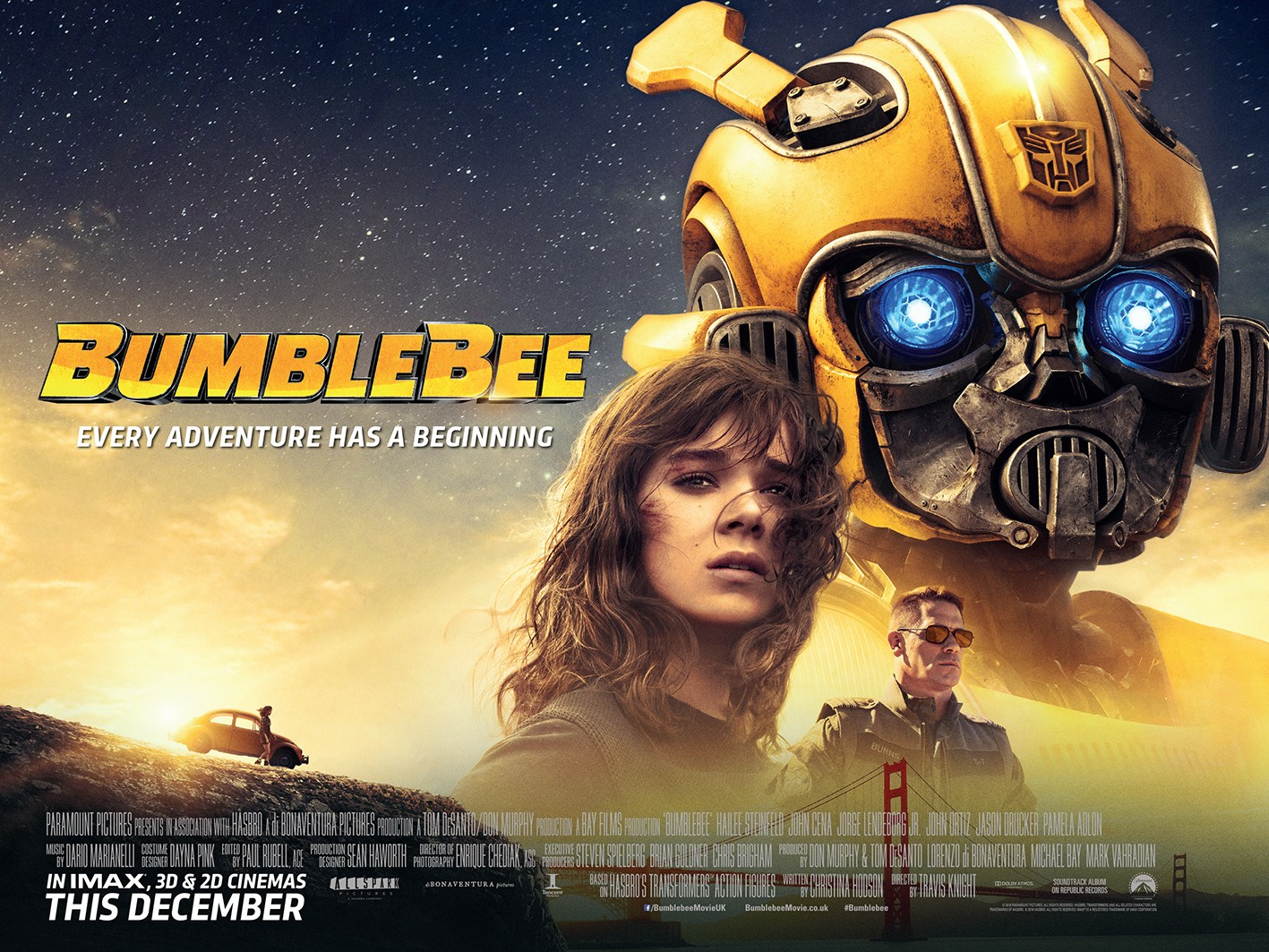 Bumblebee (2018): The Transforming Giant   BS Reviews