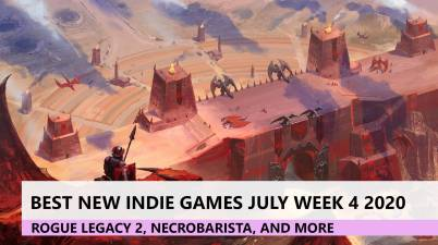 Best new indie games July 2020 Vagrus the riven realms