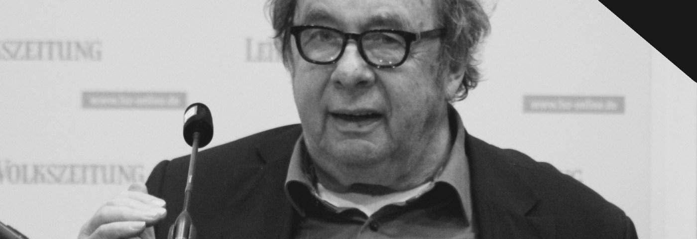 Hellmuth Karasek – Tod einer Literaturlegende