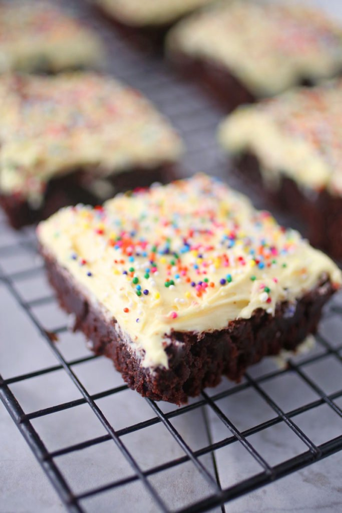 Easy Brownie Buttercream Recipe
