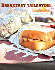 Breakfast Tailgating Sandwiches