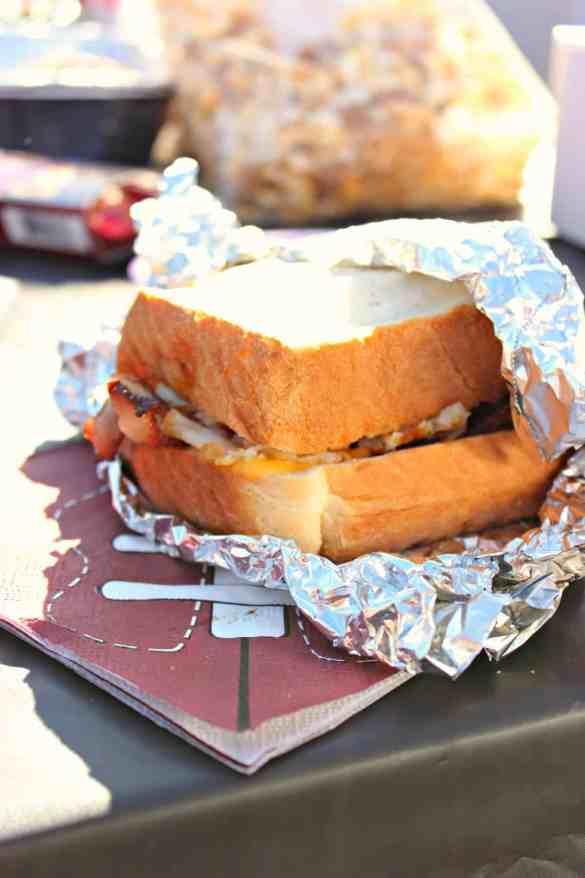 Tailgating Breakfast Sandwiches