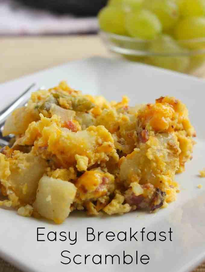 Easy Breakfast Scramble