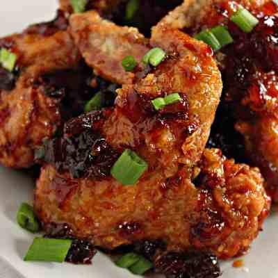 Pineapple Tequila Sticky Chicken Wings