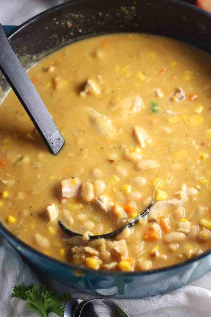 White Chicken Chili Brown Sugar Food Blog