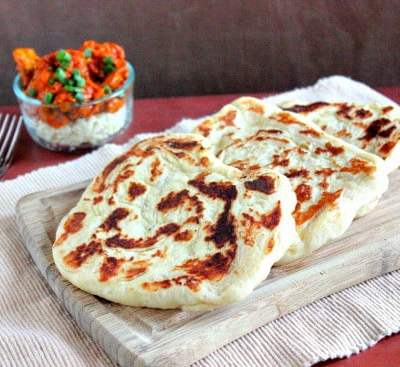 Naan Recipe and Vegetarian Tikka Masala
