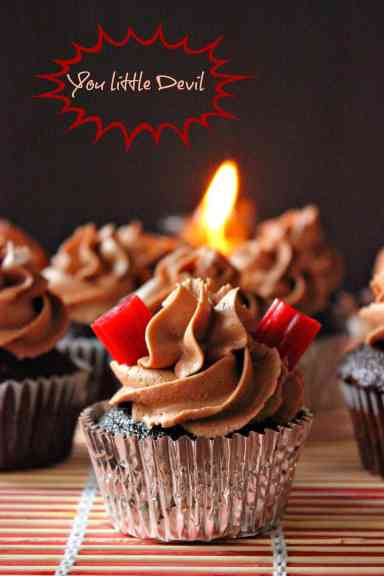 Devil's Chocolate Cupcakes