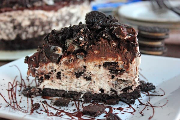 Non-Bake Oreo Cheesecake