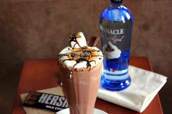 Boozy Smores Milkshake