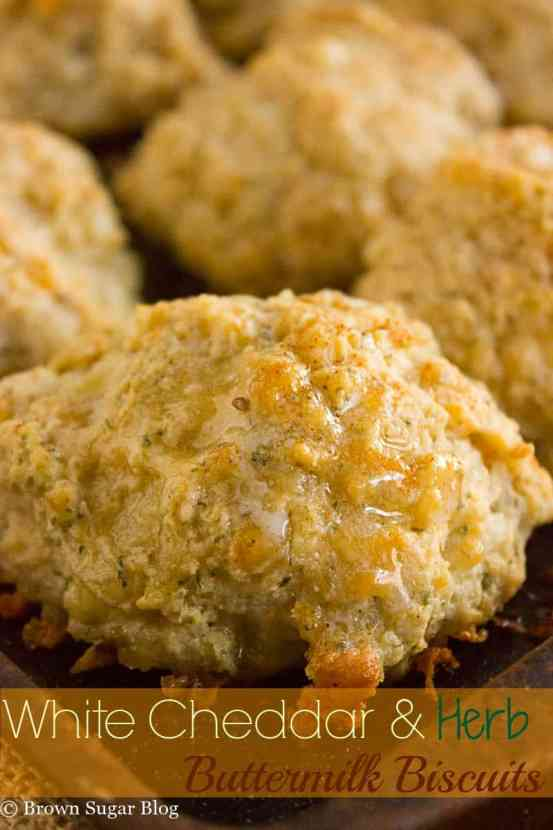 White Cheddar & Herb Biscuits